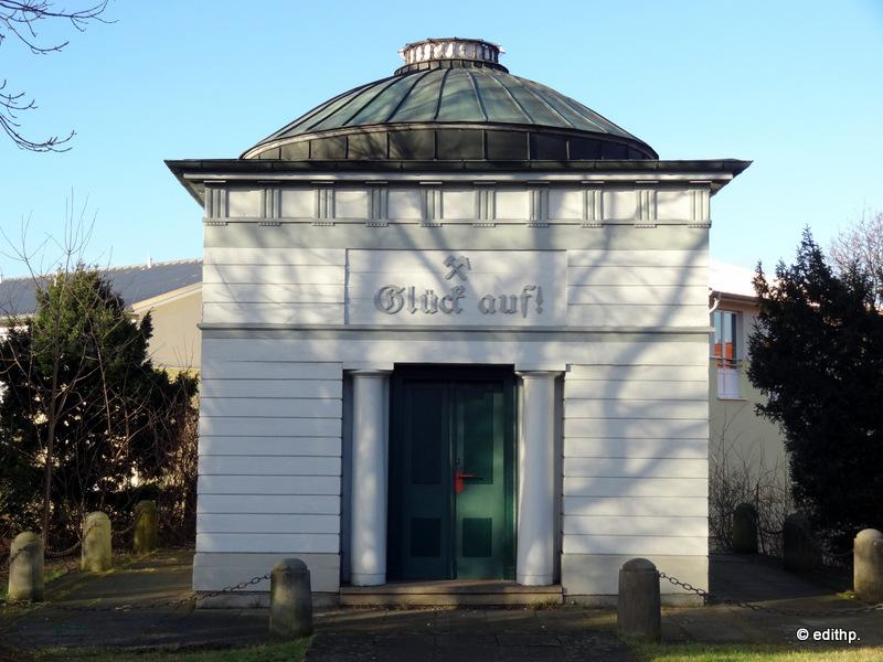 Brunnenhaus über der Solequelle