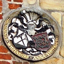Wappen am Haus