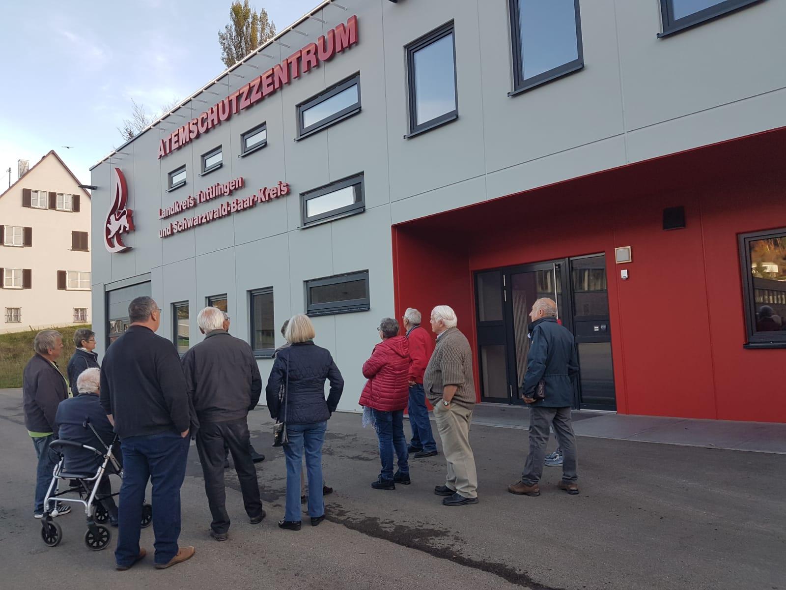 Besuch des Atemschutzzentrums Tuttlingen