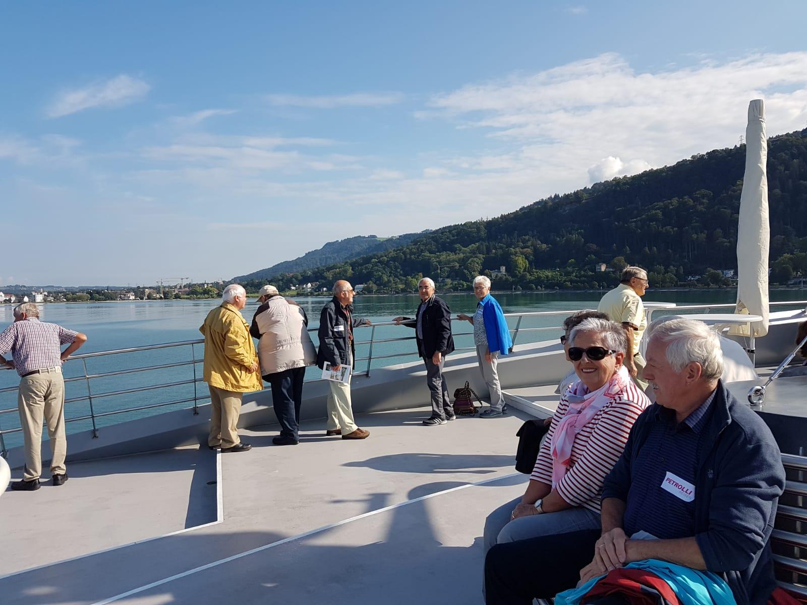 Ausflug der Altersabteilungen des Kreises nach Bregenz