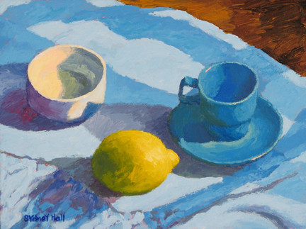 LemonTea, 9x12, SOLD