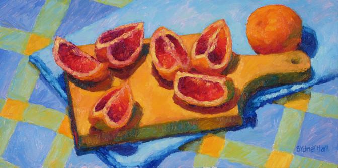 Summer Slices, 8x16, SOLD
