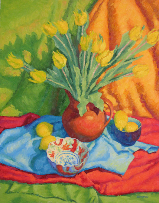 Tulip Fancy, 30x24, SOLD