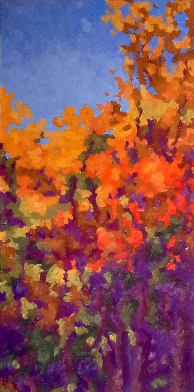 Dash of Autumn, 24x12, SOLD