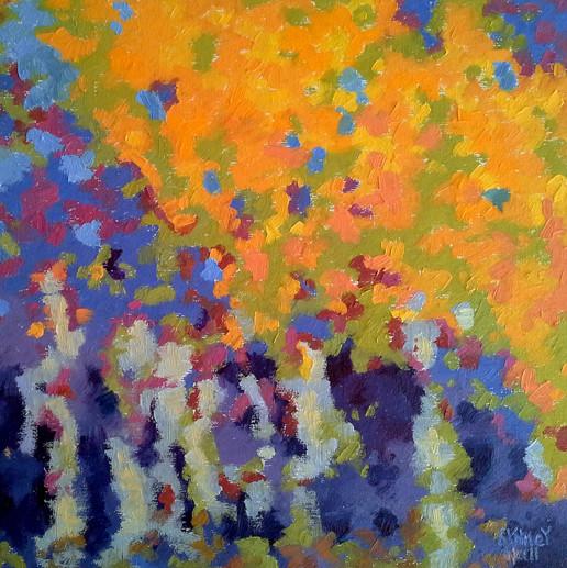 Autumn Hues, 12x12, SOLD