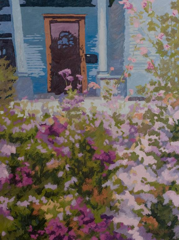 Victorian Garden, 24x18, SOLD