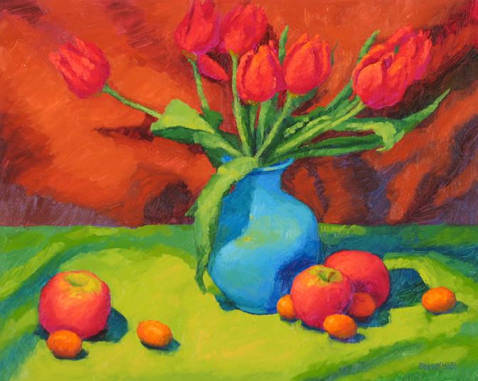 Tulip Fancy, 16x20, SOLD