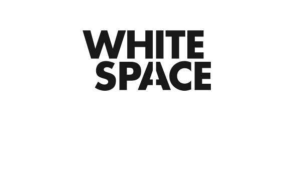 WHITE SPACE. Wortmarke für die Kollektion 'Contrast' des Kunden Intercoiffure Mondial, Paris