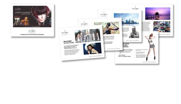WORLD CONGRESS 2016 SHANGHAI, Kunde Intercoiffure Mondial, Paris. PowerPoint-Präsentation für Promotion und Akquise von Partnern und Sponsoren für den Weltkongress 2016.Umfang 22 Seiten, englisch