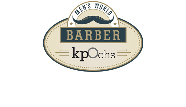 BARBER. Establishment von Herren-Salons des Kunden Klaus Peter Ochs, Frankfurt