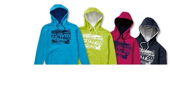 Kunde Calypso Tauchcenter, Malta. Mitarbeiter-Ausstattung und Merchandising, Sweater mit Druck