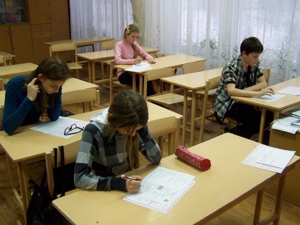 Школа № 1: творча тиша