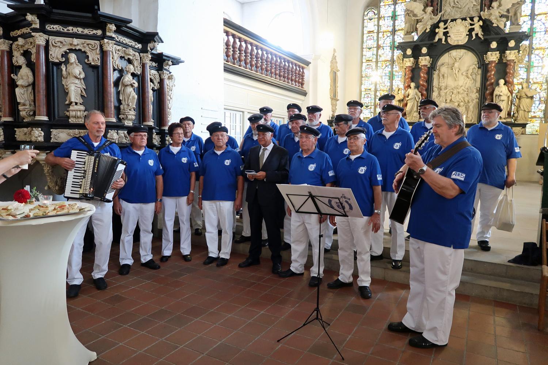 Pastor Ekkehard Heise geht nach Cuxhaven......
