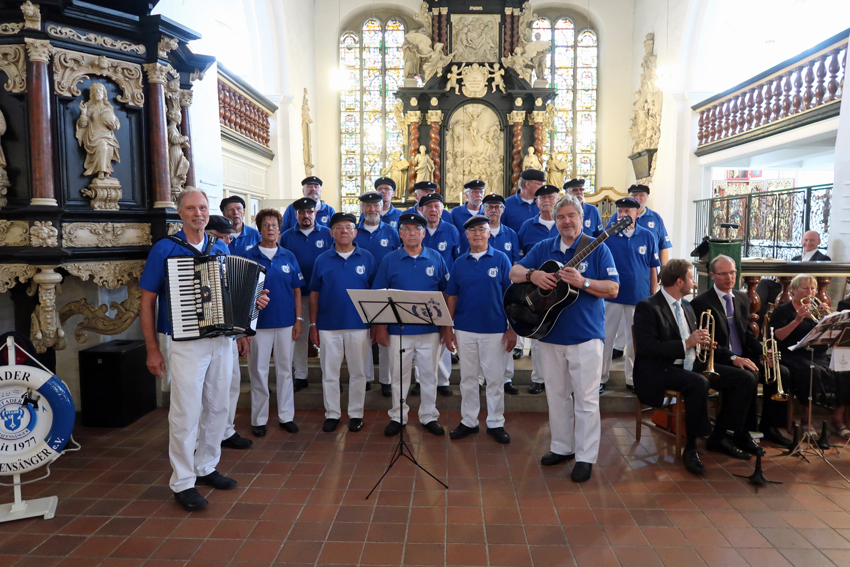 12.08.2018 - Stade St. Cosmae Kirche