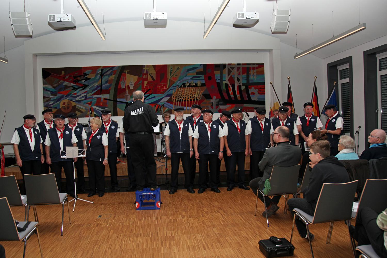 ...es ist soweit - GEMEINSAM  mit dem Orchester treten wir im Stader Kreishaus.....