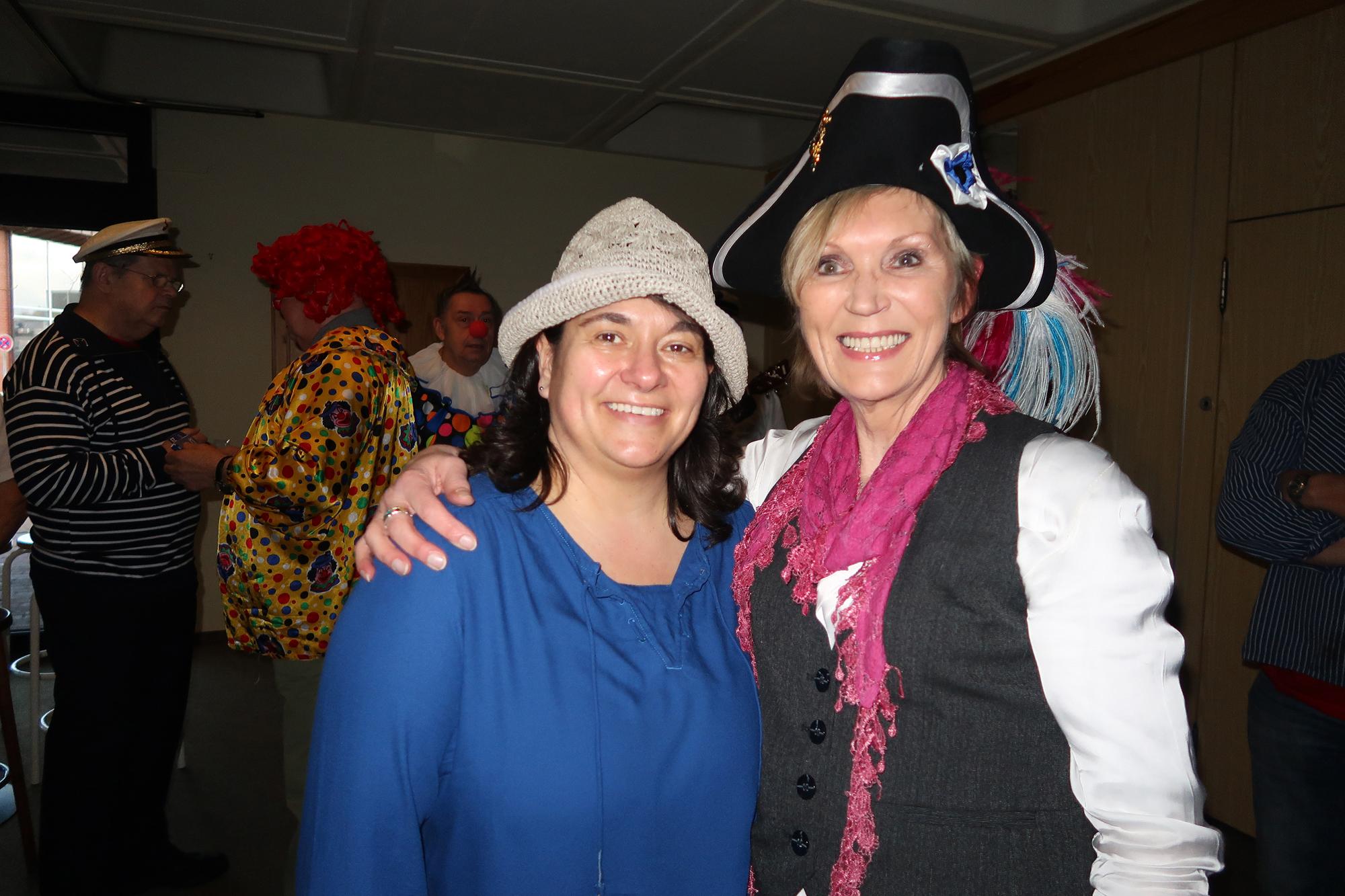Silke Bolz (links) und Sabine Nimczyk - 28.02.2017