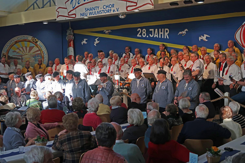 Gastgeber - De Windjammers (Neu Wulmstorf), Altländer Shanty-Chor......