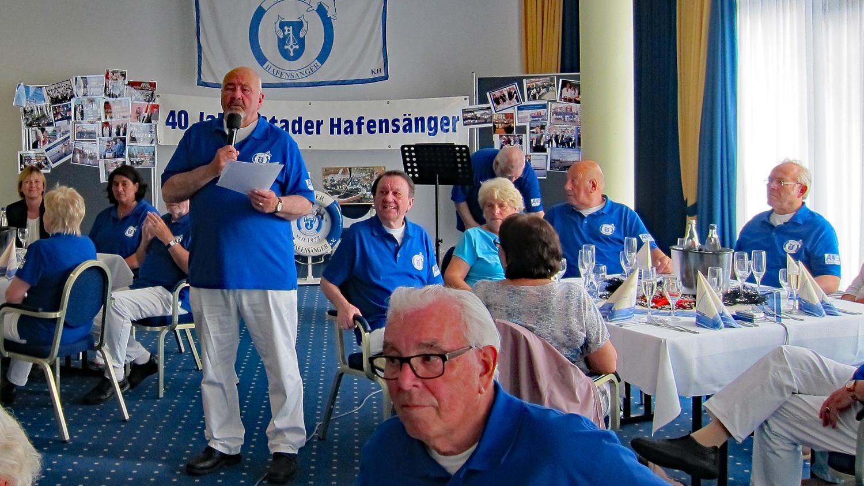 Unser 1. Vorsitzender Gerd Bellgardt begrüßte die Gäste