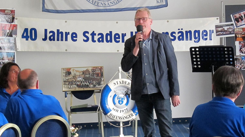 ....und Frank Tinnemeyer von der Stader Touristik