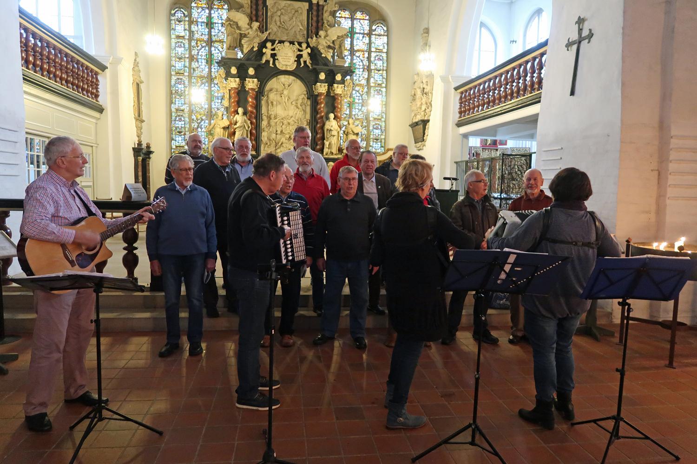 07.10.2017 - Übungsnachmittag in der St. Cosmae Kirche in Stade