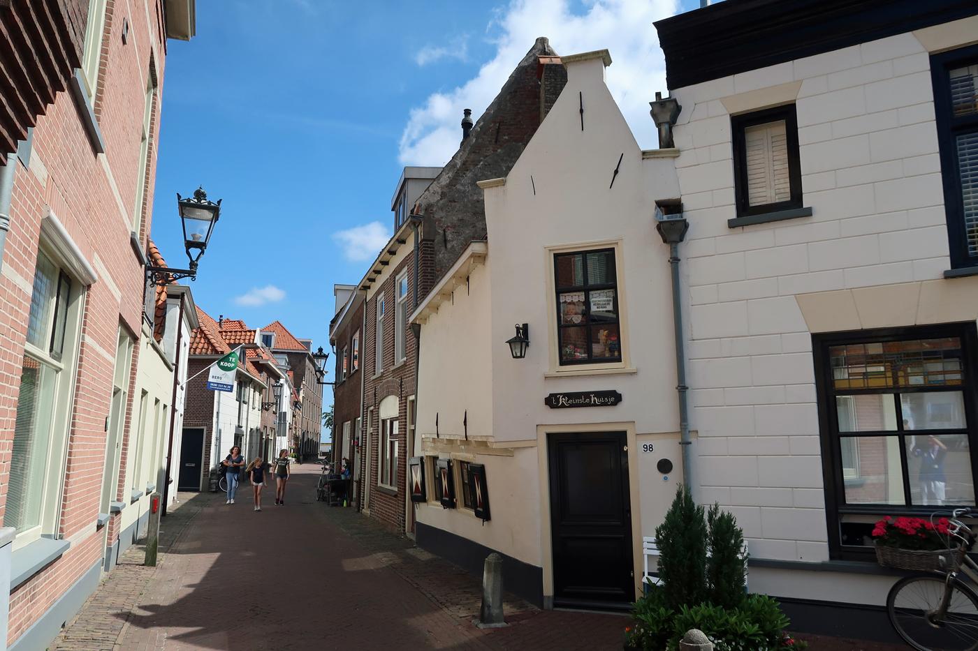 Das Kleinste Haus in Kampen kann besichtigt werden