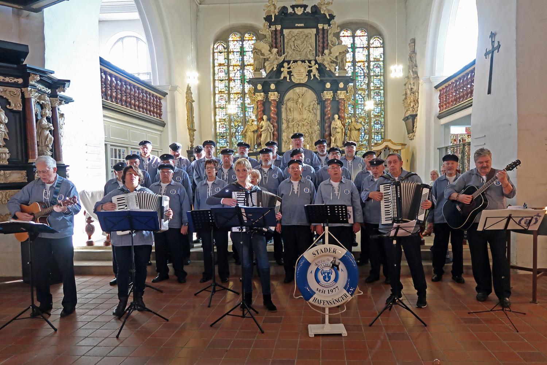15.10.2017 - Seemannsgottesdienst in der St. Cosmae Kirche - Stade