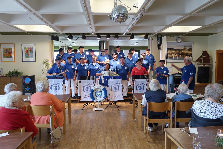 05.07.2018 - Sommerfest im Katholischen Altenheim St. Josef - Stade....