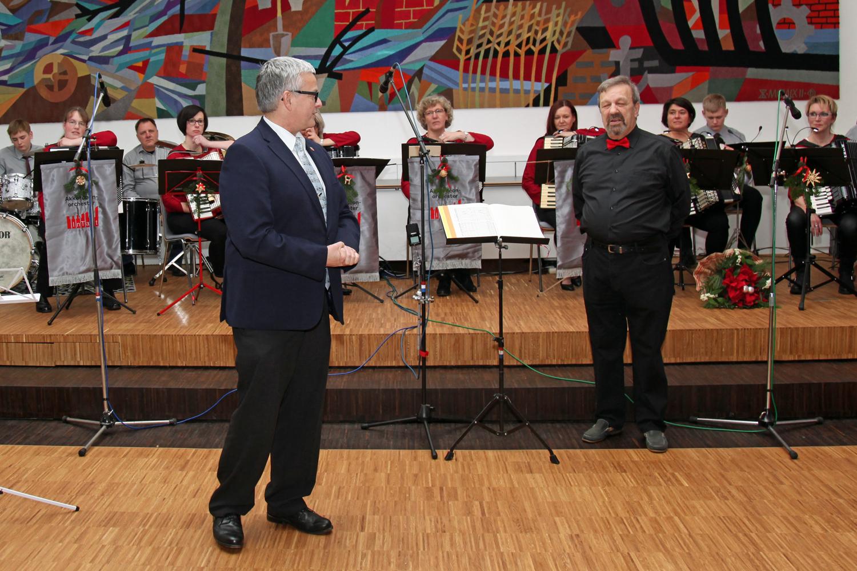 ....und Landrat M. Roesberg hat sich auch für das schöne Konzert bedankt
