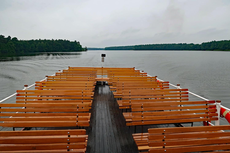 Es war trotz Regen eine sehr schöne Seerundfahrt