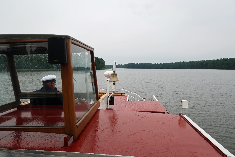 """""""Traumhaftes Wetter"""" bei einer Seerundfahrt"""