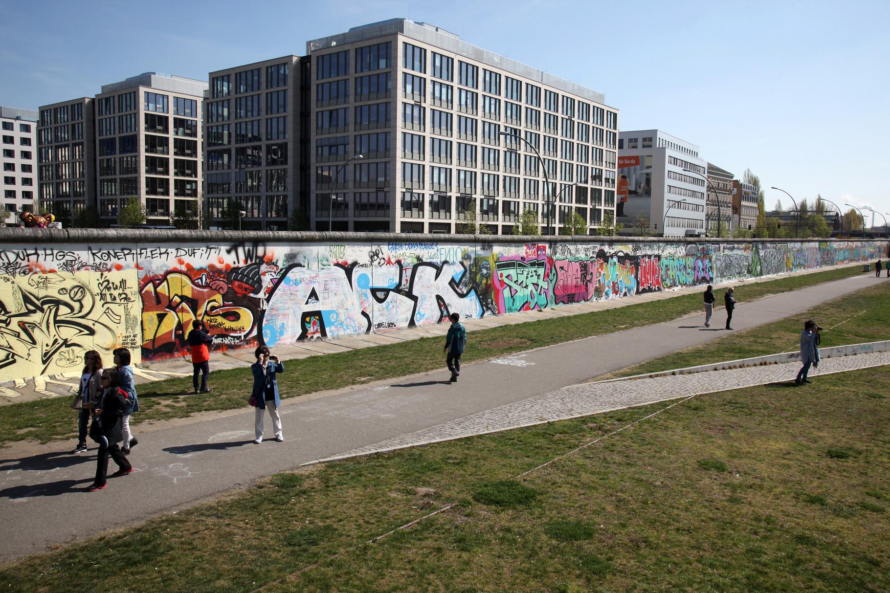 """.........an der """"Berliner Mauer"""""""