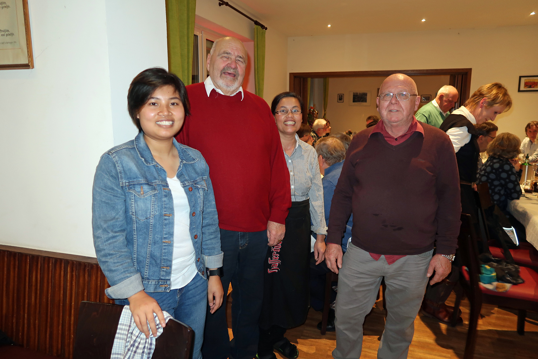 ...DANKE an Tan Meusel ( rechts) und sein Team