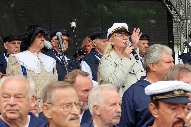 Eröffnung durch Bürgermeisterin Nora Görke