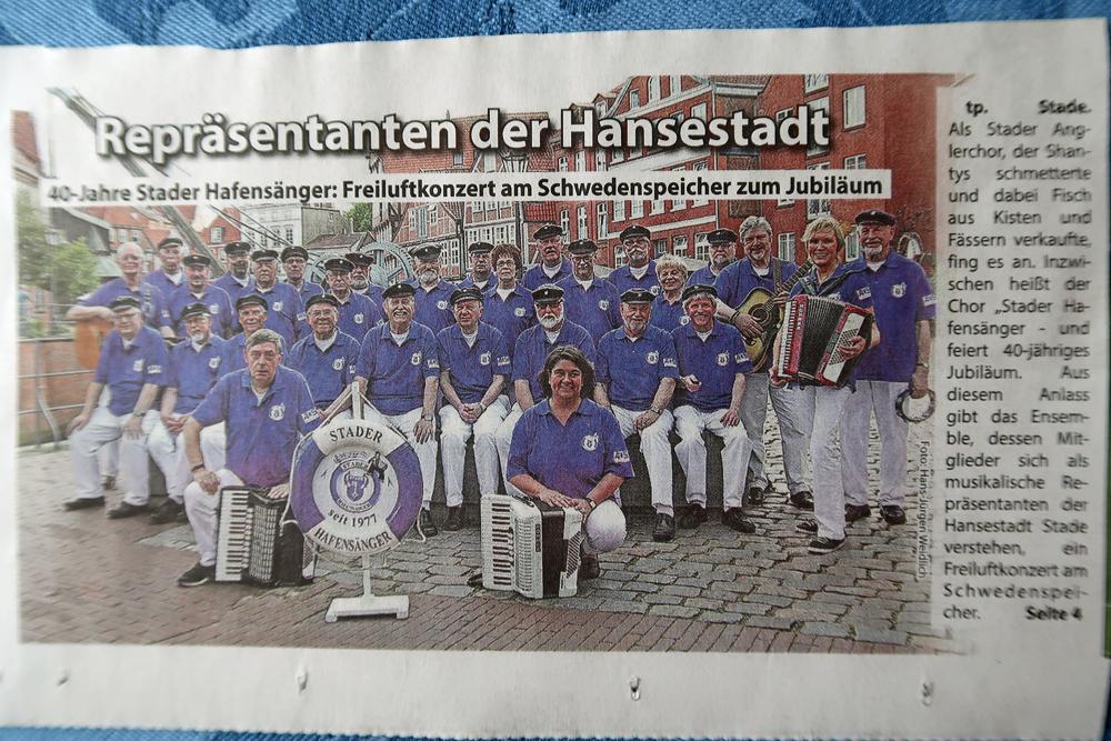 Presse - Neue Stader Wochenblatt - 31.05.2017