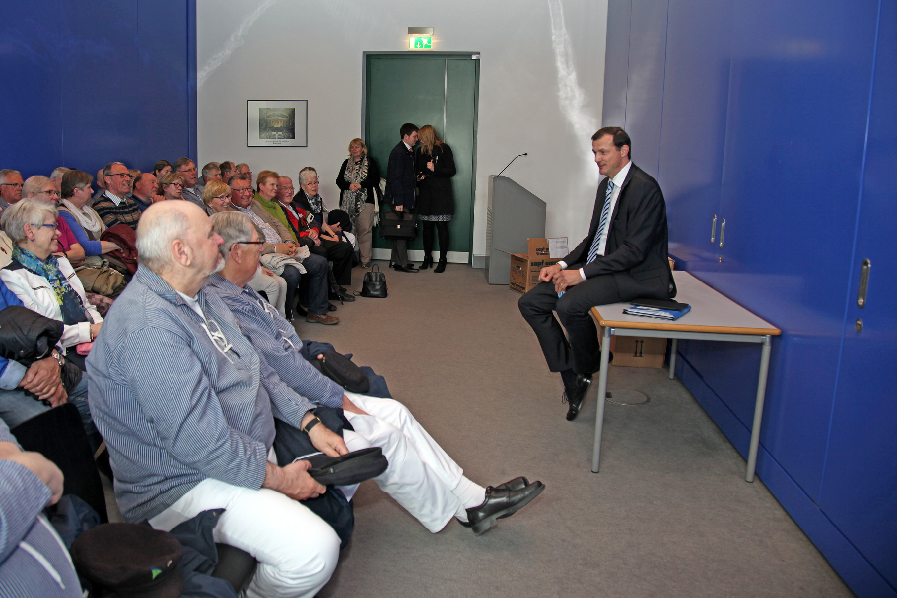 Diskussion mit Oliver Grundmann (MdB)