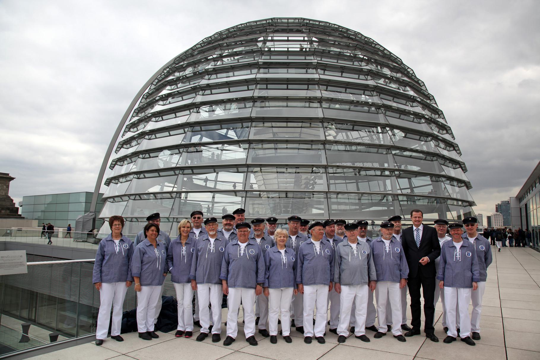 Besuch der Kuppel des Reichstagsgebäudes