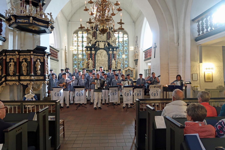 14.10.2018 - Seemannsgottesdienst in der St. Cosmae Kirche..........
