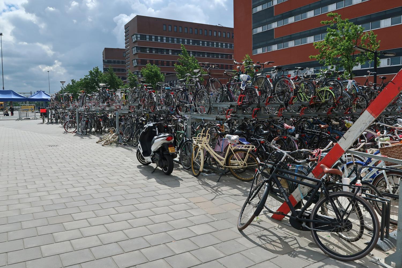 Radstation am Bahnhof Zwolle