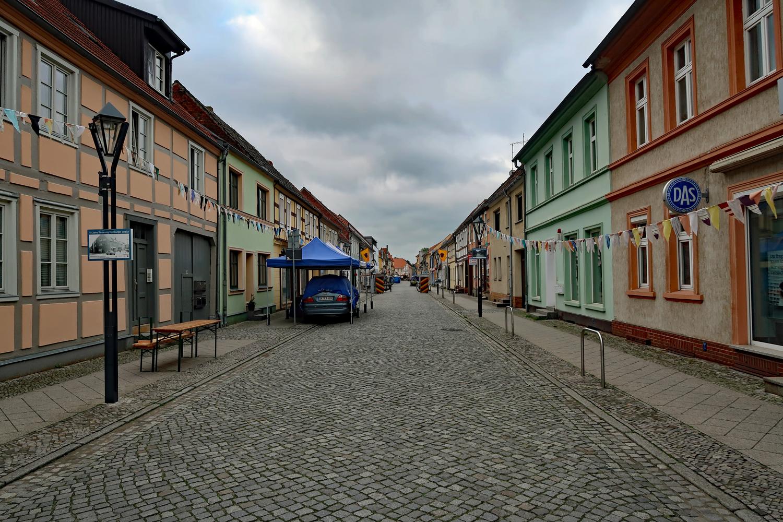 .....Die Hamburger Straße wurde aufwendig saniert