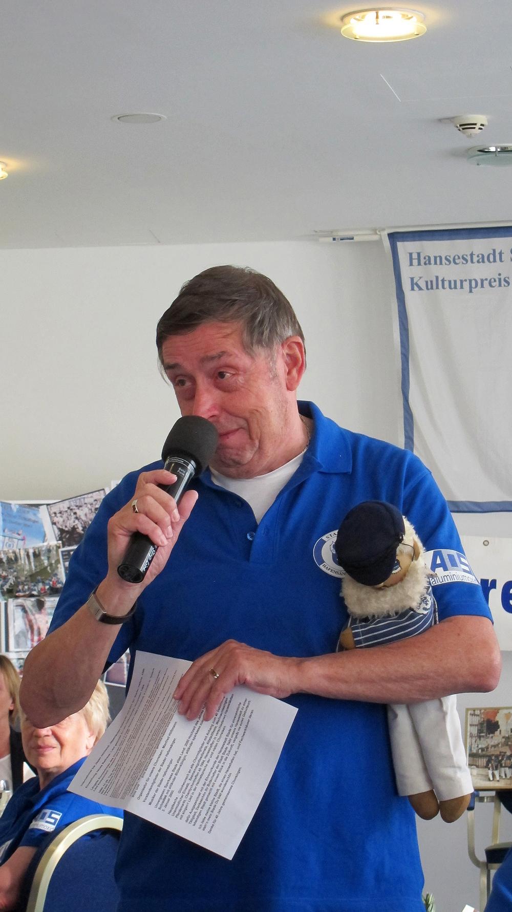 .......hat Wolfgang Kommnick (Gründer) gehalten
