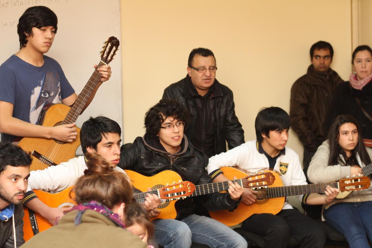 Alumnos del Colegio de Música J. S. Bach