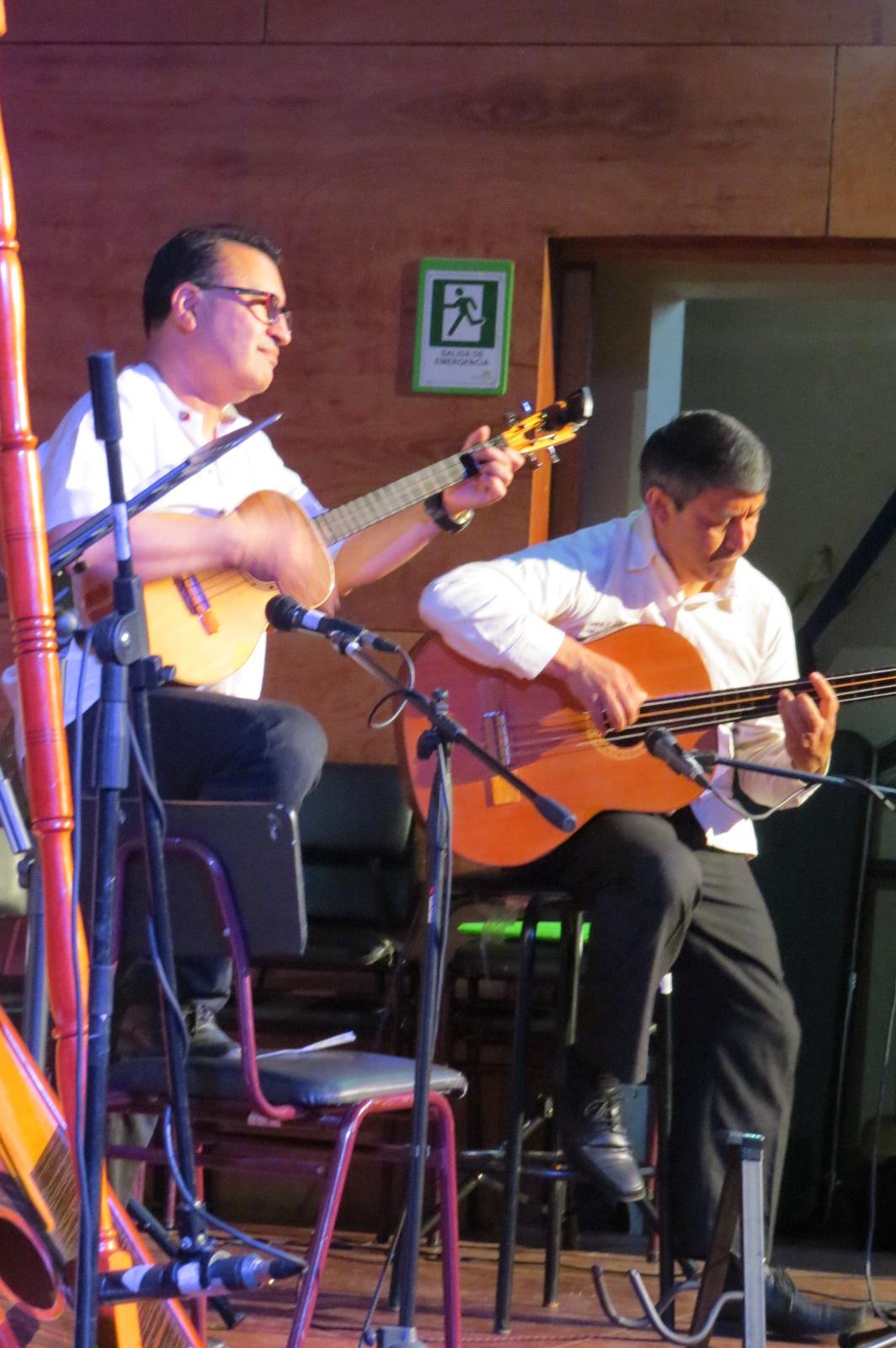 Rodolfo Sepúlveda (Ofo) y Alirio Díaz