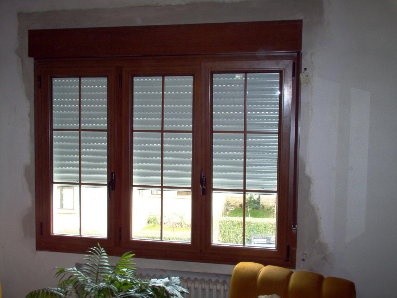 Persianas pvc persianas de aluminio y pvc for Colores ventanas aluminio lacado
