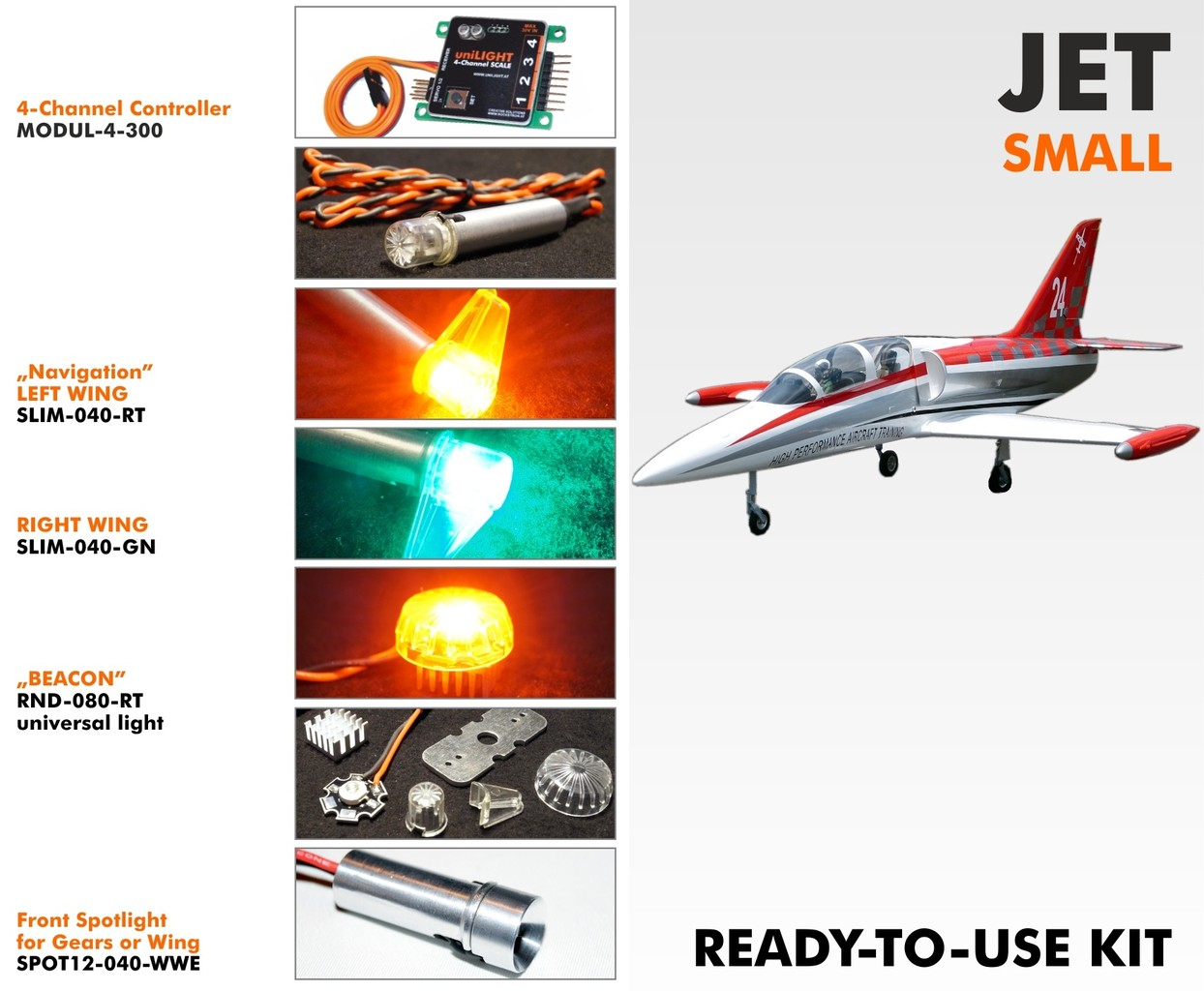 All lighting products are made by uniLIGHT - IFlyTailies