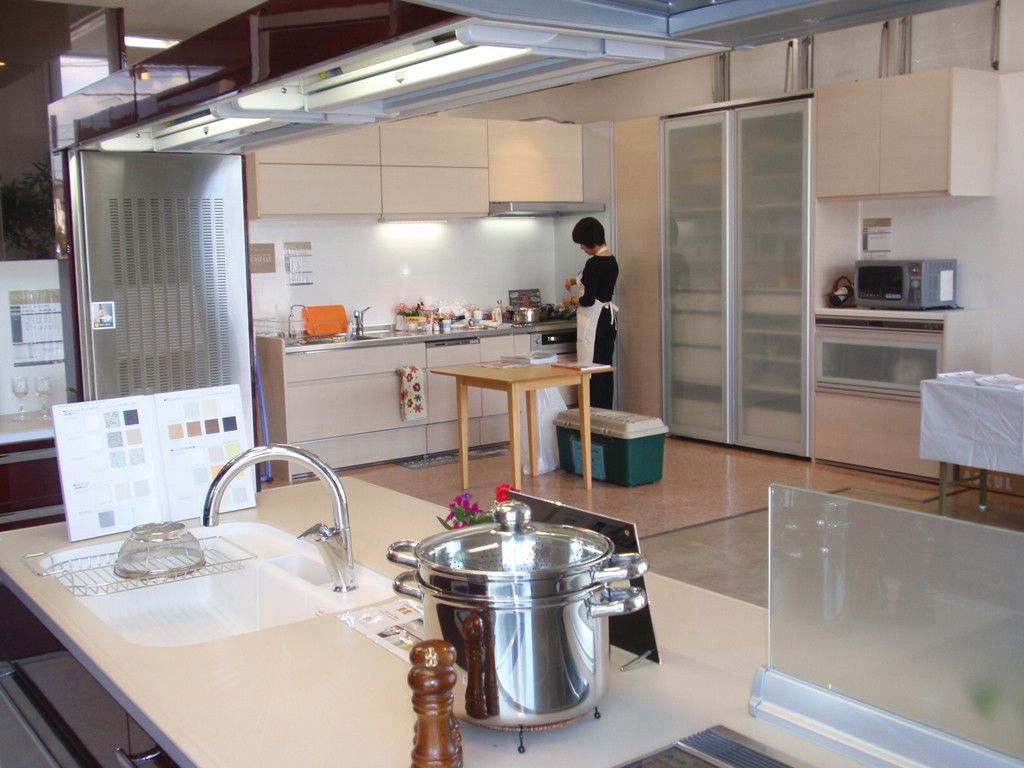 平成22年:松江市店舗ショールーム~キッチン~
