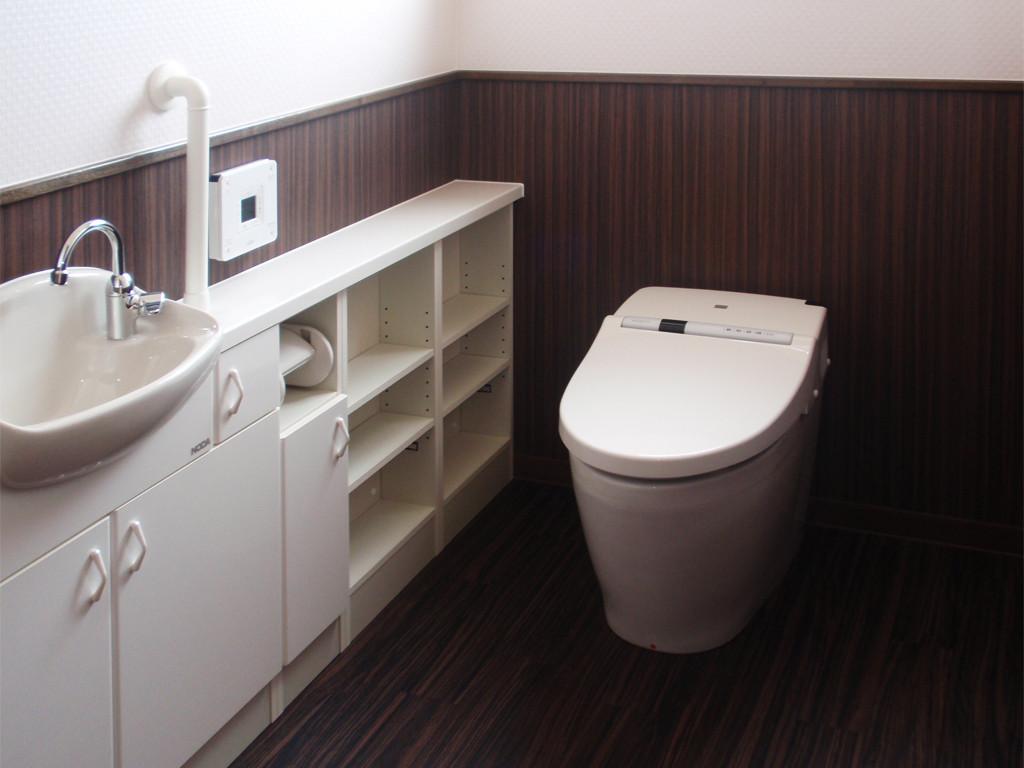 平成21年:大田市M様邸~トイレ~