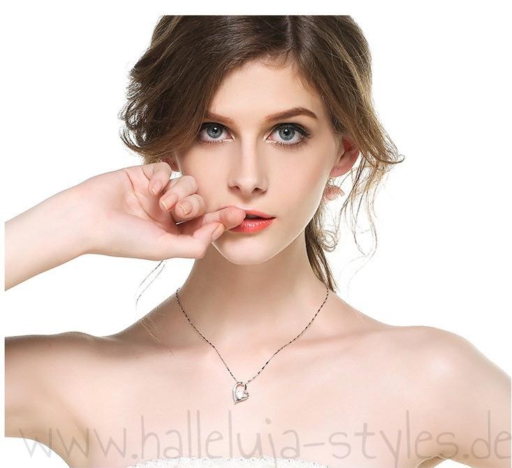 Christlicher-Schmuck-und-Geschenke-Halleluja-Styles-Herzanhänger-Sterling-Silver-3