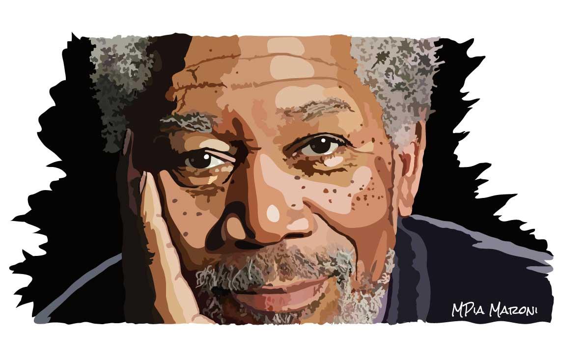 Morgan Freeman, ritratto