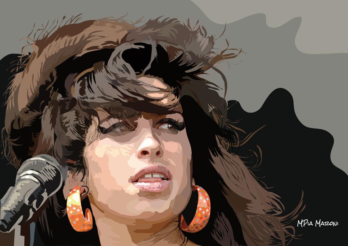 Amy Winehouse ritratto
