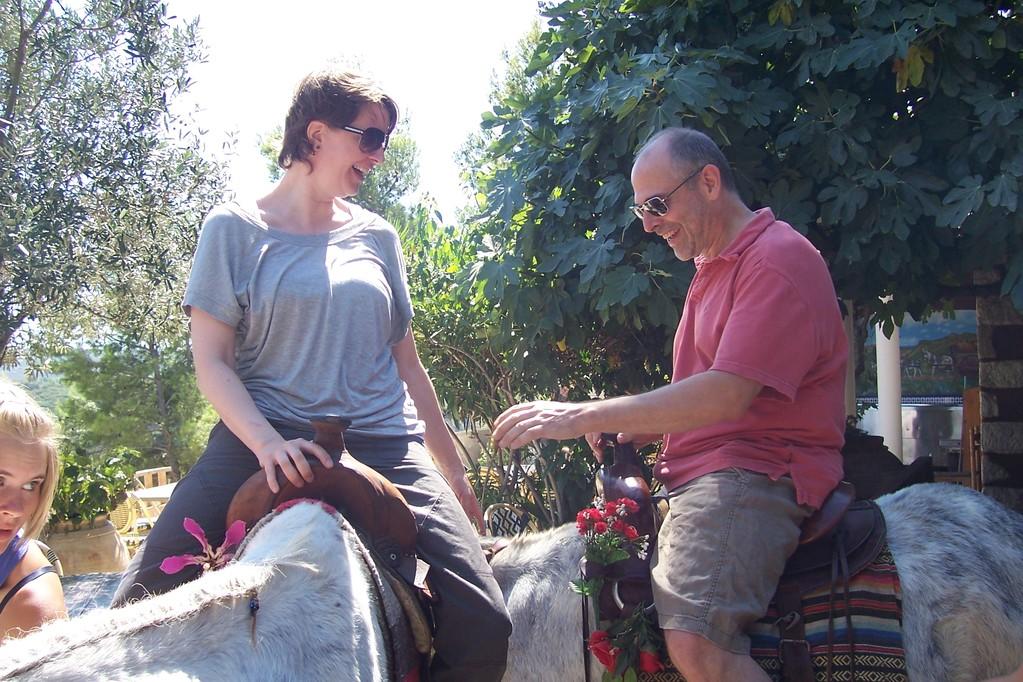 Die Paten von Carmen und Barry aus New Jork